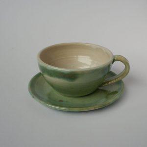 Tasse und Untertasse
